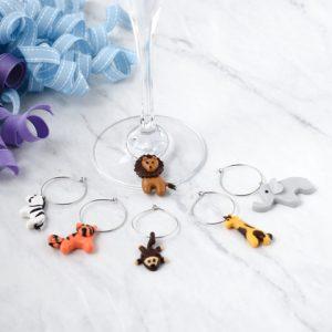 Animal Wine Charms