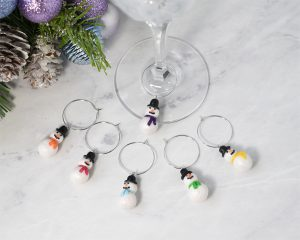 Christmas Glass Charms
