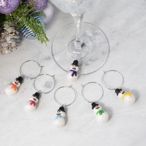 Christmas Glass Charms