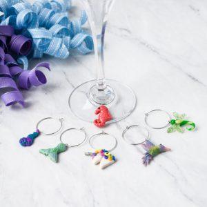 Whimsical Wine Charms