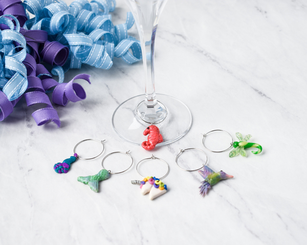 Whimsical Wine Charms